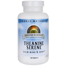 Theanine Serene - Calming Complex with GABA - 60 Tablets