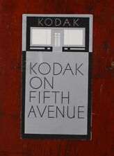 KODAK ANNOUNCEMENT OF A STORE OPENING ON 5TH AVE IN NEW YORK, 1931/cks/216071