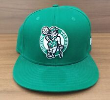 Boston Celtics New Era Snap Back Hat Adjustable Cap Hardwood Classics Green Hat