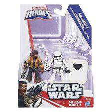Star Wars Galactic Heroes Finn (Jakku) First Order Stormtrooper Playskool TR-8R