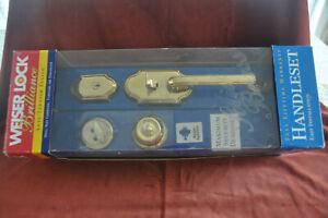 Weiser Front Door Entry Lock Set