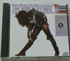 RARE TECHNOTRONIC  ( BODY TO BODY ) CD ALBUM 11 TITRES 1991 DANCE RAP