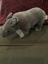 New Signature Webkinz Endangered Species. Sealed Codes. Black African Rhinoceros
