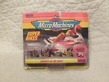 Vintage Galoob Micro Machines Super Bike Collection #2 Motorcycles Triumph TR3
