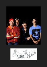 RED HOT CHILLI PEPPERS #2 Signed Photo Print A5 Mounted Photo Print - FREE DEL
