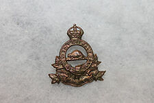 "Original WW2 Royal Canadian Army Pay Corps ""R.C.A.P.C."" Metal Hat/Cap Badge"