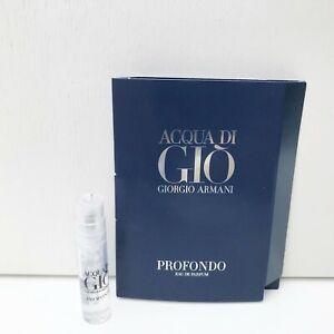 GIORGIO ARMANI Acqua Di Gio Profumo Eau de Parfum mini Spray, 1.2ml, Brand New!