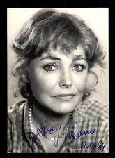 Ingeborg Schöner Rüdel Autogrammkarte Original Signiert # BC 94282