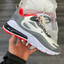 NIKE AIR MAX 270 REACT SUMMIT WHITE GREY TRAINERS SHOES SIZE UK8 US9 EUR42.5