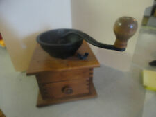 Vintage WHC Wooden Coffee Grinder Great Condition!