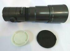 Sony Minolta fit Sigma 400mm AF Prime Lens f5.6 + caps built in Hood