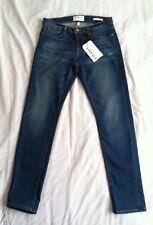 """NWTG $220 Frame Blue Denim women's jeans """"Le Garcon"""" Jeans SZ 28x29"""