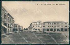 Venezia San Donà di Piave cartolina QK9409