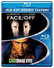 Snake Eyes / Face Off (Blu-ray, 2-Disc Double Feature) NEW Sealed, Free Shipping