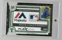 2018 Topps Museum Collection COLE HAMELS #D 1/1 Game worn Laundry Tag patch CARD