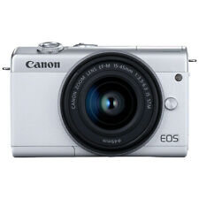 Canon EOS M200 Mirrorless 4K Digital Camera with 15-45mm EF-M IS STM Lens White
