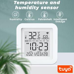 WiFi Smart Temperature Humidity Sensor Meter Hygrometer Thermometer Monitor