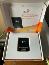 Excellent in Box Sierra Wireless Momentum AT&T 4G LTE USB Connect Modem Internet