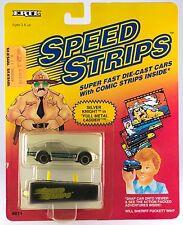 "Ertl Speed Strips Silver Knight in ""Full Metal Ladder"" Diecast Car & Viewer 1990"