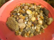 MIXED RIVER, MOUNTAIN AND AQUARIUM ROCKS FOR TUMBLING,  ART & CRAFS, PAINTING?