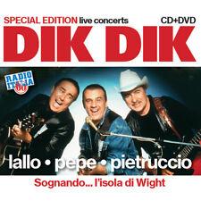 DIK DIK live Sognando...l'isola di Wight  CD+DVD ita prog