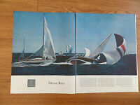 1959 Photo Article Ad Ocean Race Newport Bermuda Race Big Yawl Ondine