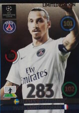 Adrenalyn Xl Champions League 2014/15 Tarjeta De Edición Limitada Zlatan Ibrahimovic