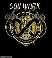 SOILWORK cd cvr THE LIVING INFINITE TOUR Official SHIRT LAST XL New oop