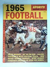 1965  Baltimore Colts Johnny Unitas * Sports Review Magazine - FLASH SALE