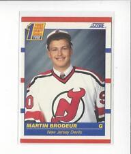 1990-91 Score #439 Martin Brodeur RC Rookie Devils