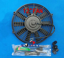 Universal 12'' 12 Volt 12 inch Thermo Fan Electric Cooling Fan and Mounting Kits