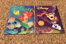 Disney Catalog March 1998 Little Mermaid September 1999 Tigger Halloween