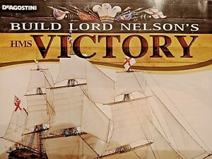 DeAgostini Build Lord Nelson's  HMS Victory model  issues 1-110