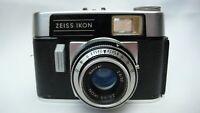 German Zeiss Ikon Colora Model F 35mm Camera Novicar 2.8/50 2.8 50mm Lens