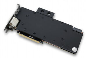 EKWB acetal/nickel waterblock for Nvidia Geforce Titan X/980ti, incl. backplate