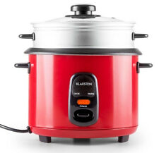 Premium Rice Cooker With Steamer Attachment by Klarstein 1.5 Litres 8 Cups