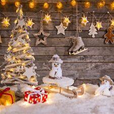 Wood Christmas Tree Xmas Decors Photography Backgrounds 10x10ft Vinyl Backdrops