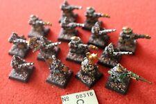 Games Workshop Warhammer Dwarves Dwarf Thunderers Metal Regiment Command Painted