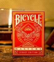 Bicycle Ellusionist Legacy Edition Masters Red US Playing Cards Magic Poker