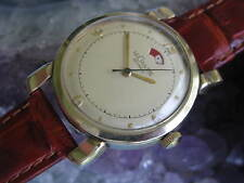 LeCoultre Vintage Gold Filled Automatic Wrist Watch, Power Reserve Indicator