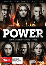 Power Complete seasons 1, 2 & 3 DVD Box Set Limited Edition Collection R4 New
