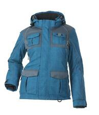 Divas Snow Gear Arctic Appeal Ocean Blue Snowmobile Winter Jacket