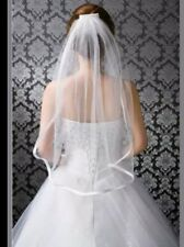 1 Tier Ivory Bridal Wedding Veil Elbow Length with Comb
