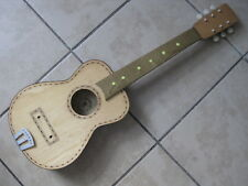Vintage Late 60's Italy Bontempi Toy Guitar Body Neck Parts for Project / Repair