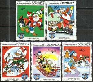 Dominica Stamp - 84 Christmas-Disney Stamp - NH