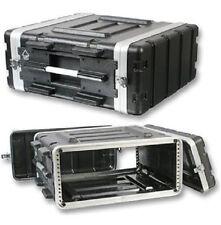 """Stackable ABS 19"""" Rack Flight Case - 4RU"""