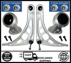 FOR BMW E46 (1998-2006) Front Lower Control Arms Wishbones + Bushes