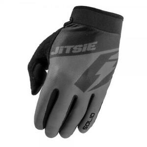 JITSIE G2 SOLID TRIALS BIKE RIDING GLOVES. BLACK. GREAT QUALITY. *BEST SELLER*