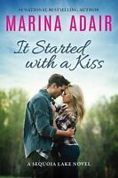 It Started With a Kiss by Marina Adair (2017, Paperback, Signed by the Author)
