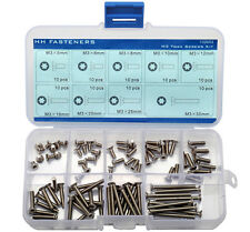 M3 Star Drive Flat Head Machine Screws Assortment Torx Countersunk Head Screws